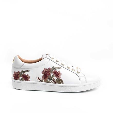 PHILIP HOG SNEAKERS - FLOWER WHITE