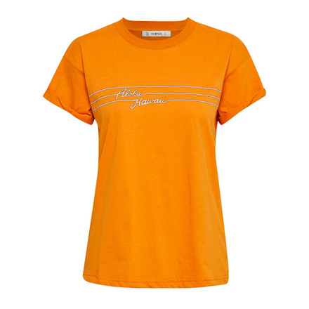 GESTUZ T-SHIRT - HAWAII ORANGE