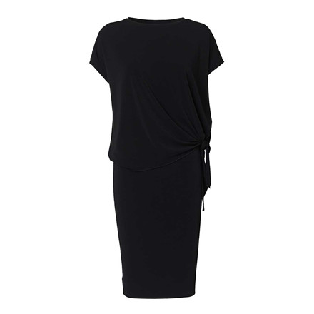BY MALENE BIRGER KJOLE - HIGANNO BLACK 050