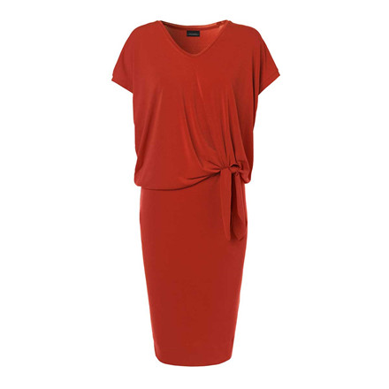BY MALENE BIRGER KJOLE - MILLIVA AUTUMN RED 5D7