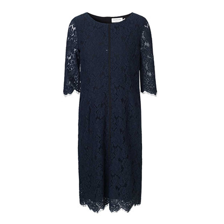 ROSEMUNDE KJOLE - 5737 DRESS 192 DARK BLUE