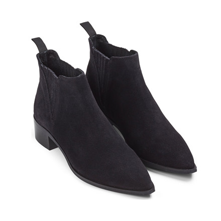 SECOND FEMALE STØLVER - ZULU SUEDE BLACK