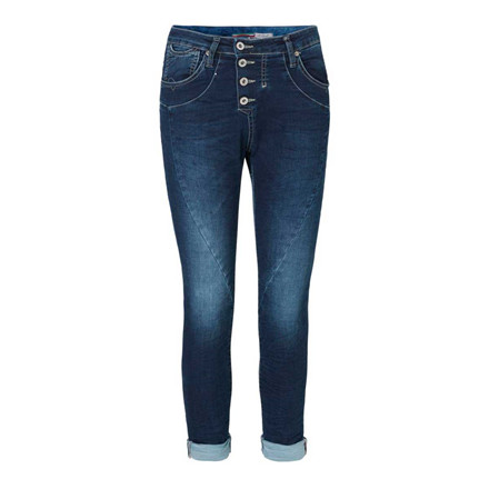 PLEASE JEANS - CLASSIC JOGGING BLU DENIM