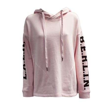 LALA BERLIN SWEATSHIRT - QUINN POWDERPINK