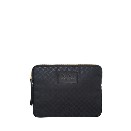 LALA BERLIN IPAD CASE - KUFIYA NYLON BLACK