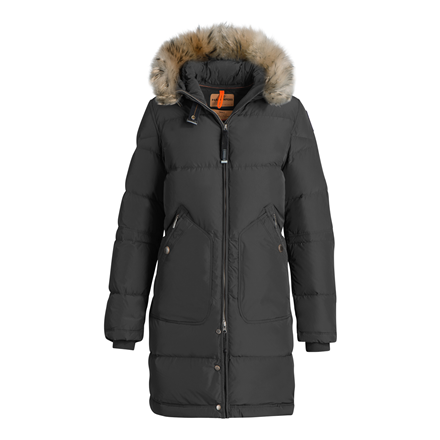 PARAJUMPERS JAKKE - LIGHT LONG BEAR ANTHRACITE