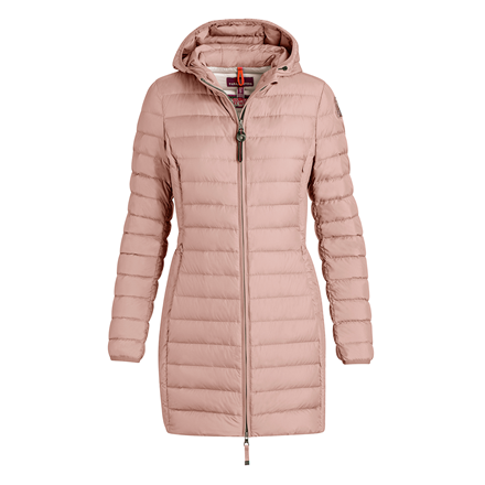 PARAJUMPERS JAKKE - IRENE SUPER LIGHTWEIGHT POWDER PINK