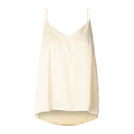 LOLLYS LAUNDRY TOP - HARBO  CREME