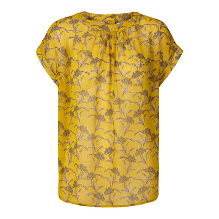 LOLLYS LAUNDRY TOP - DEVA YELLOW