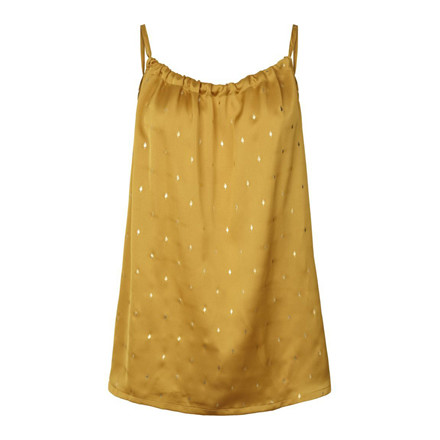 LOLLYS LAUNDRY TOP - KARMA MUSTARD