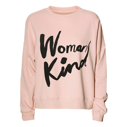 5 PREVIEW SWEATER - CHABA POWDER PINK