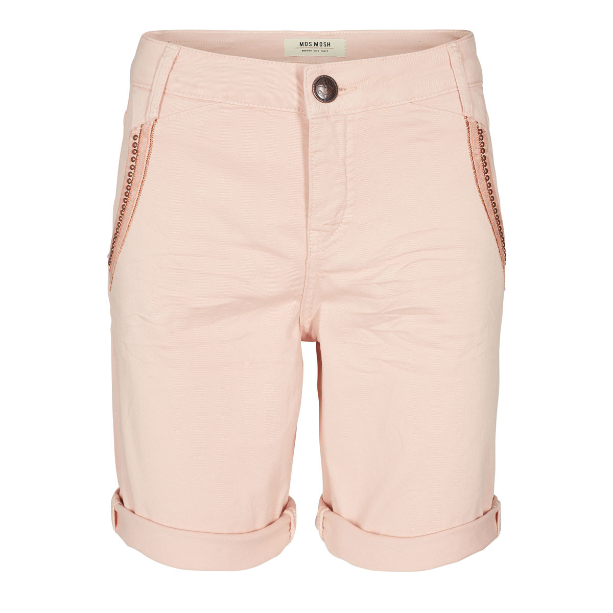 MOS MOSH SHORTS -  ETTA SHINE SOFT ROSE