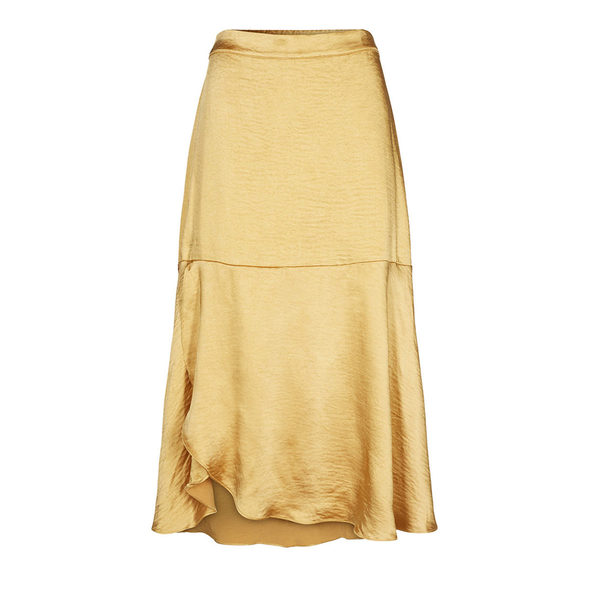 CO'COUTURE NEDERDEL - MIRAGE SATEEN MUSTARD