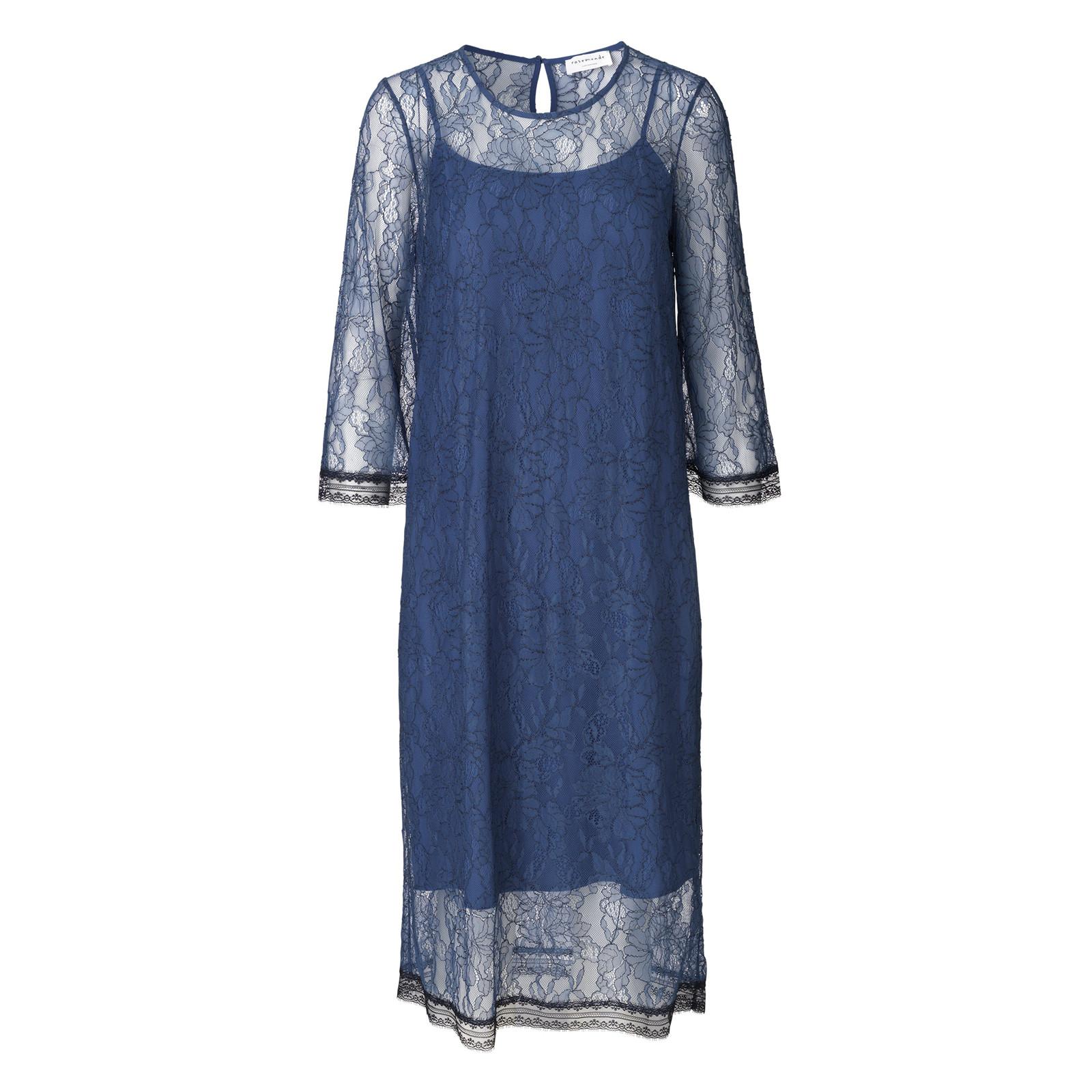 ROSEMUNDE KJOLE - 5949 BLUE INDIGO