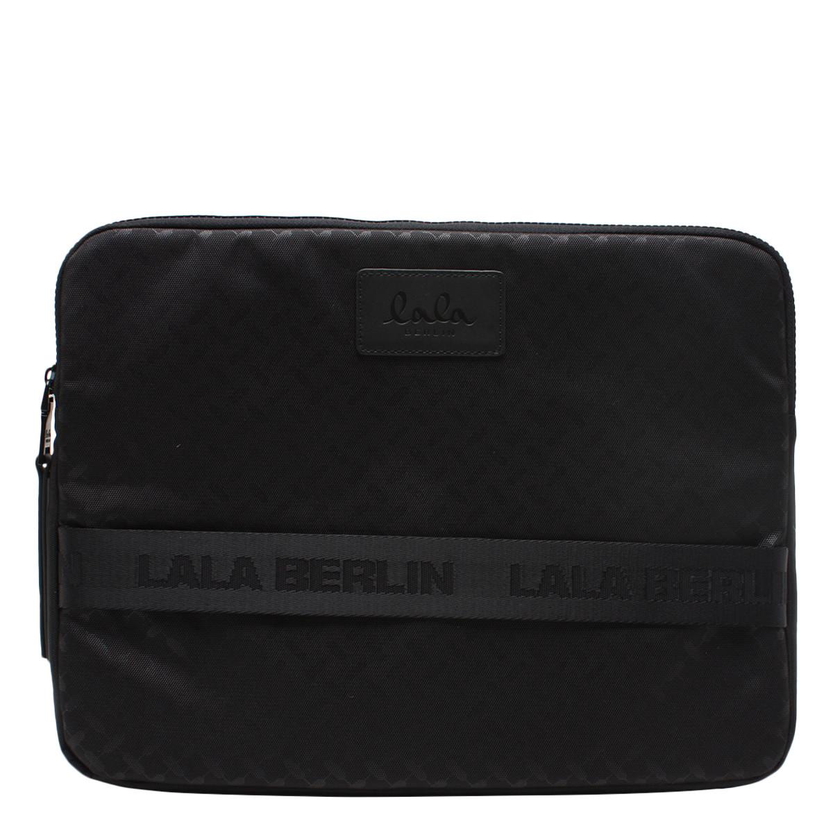 LALA BERLIN TASKE - LAPTOP CASE KIRSTEN CLASSIC BLACK