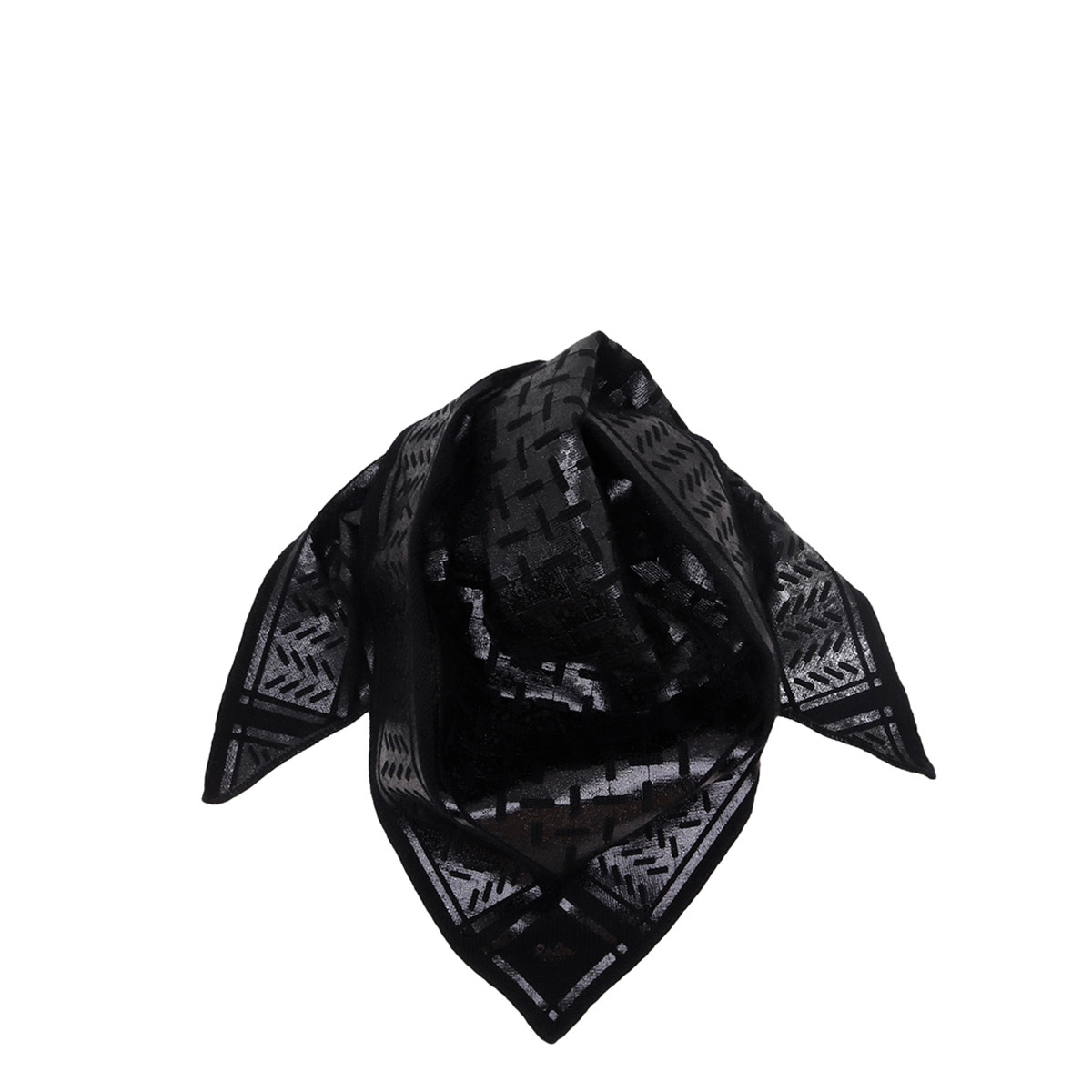 LALA BERLIN TØRKLÆDE - TRIANGLE NEO SMALL BLACK FOIL
