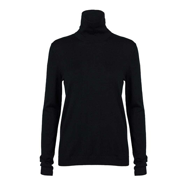 CUSTOMMADE BLUSE - DOLIN ANTHRACITE BLACK