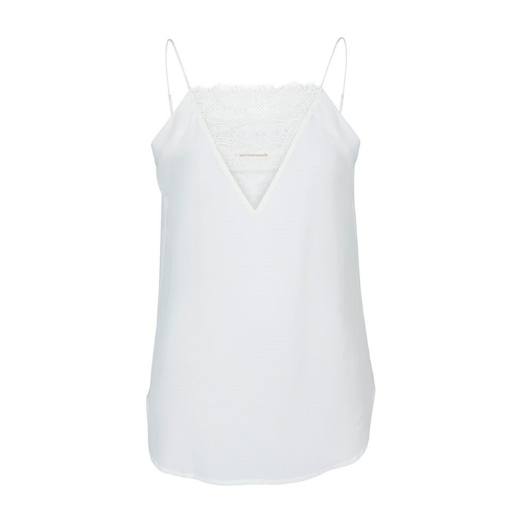 CUSTOMMADE TOP - ELVIRA 010 WHISPER WHITE