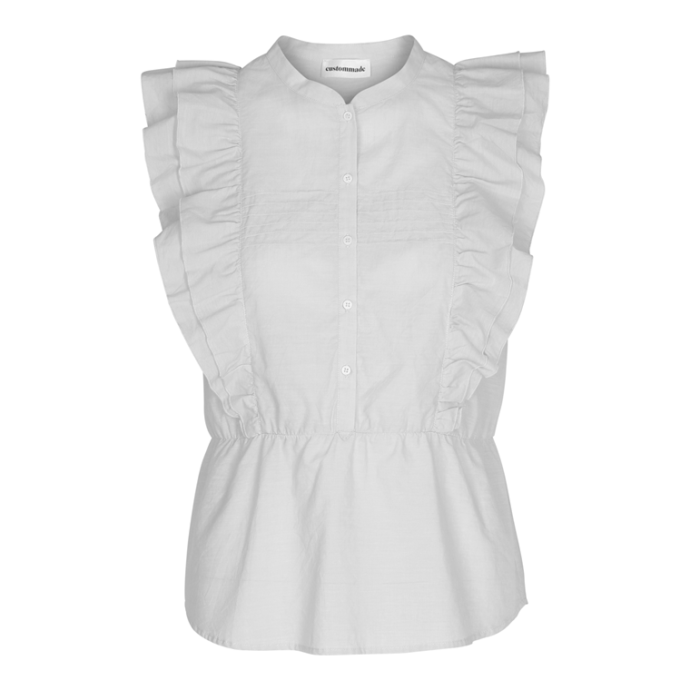 CUSTOMMADE TOP - TIMIA WHITE