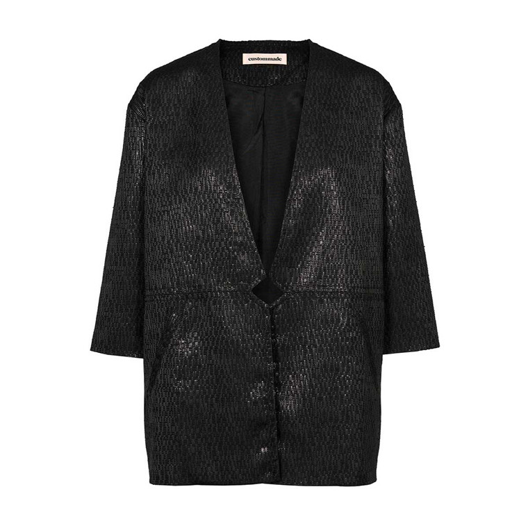 CUSTOMMADE BLAZER - MARITA ANTHRACITE BLACK