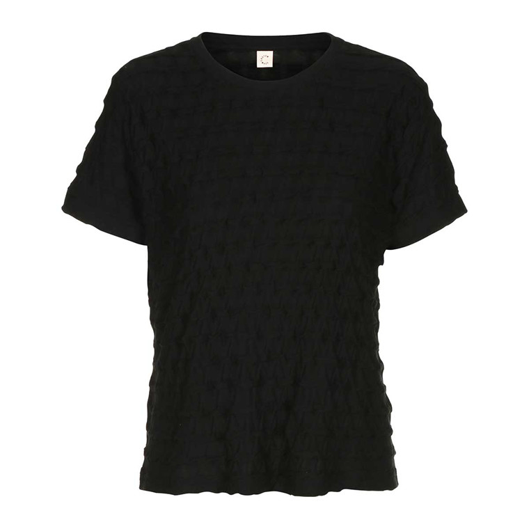 CUSTOMMADE T-SHIRT - VILKE 999 ANTHRACITE BLACK
