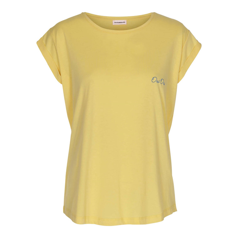 CUSTOMMADE T-SHIRT - CONNIE OUI YARROW YELLOW