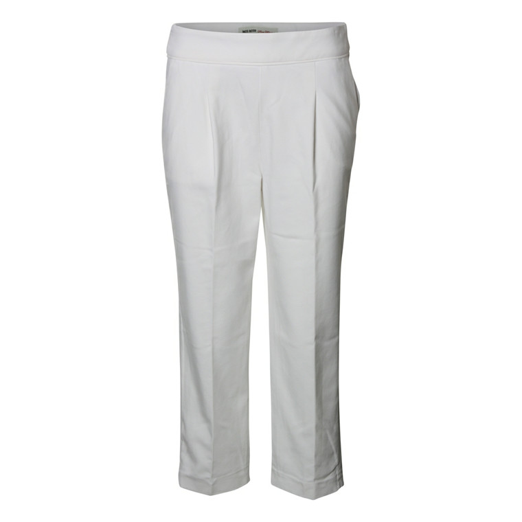 MOS MOSH BUKSER - LUX PANT OFFWHITE