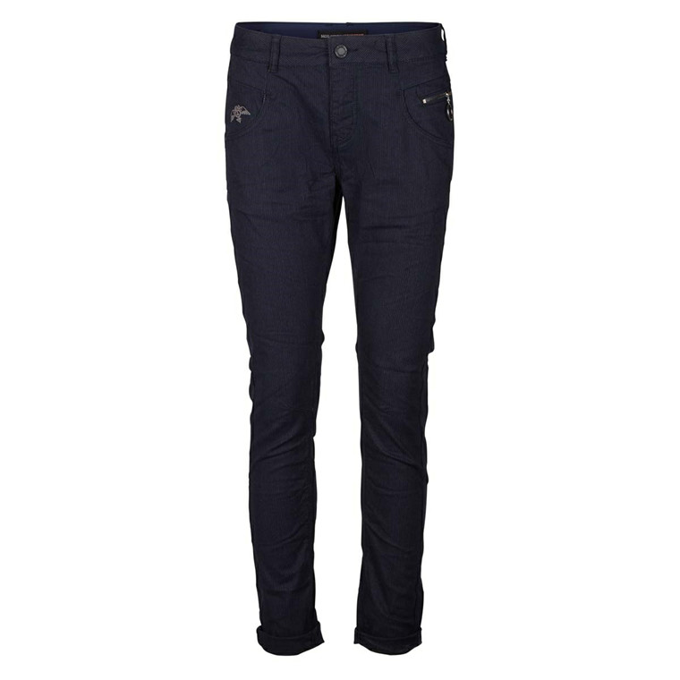 MOS MOSH JEANS - NELLY STRIPE DARK BLUE