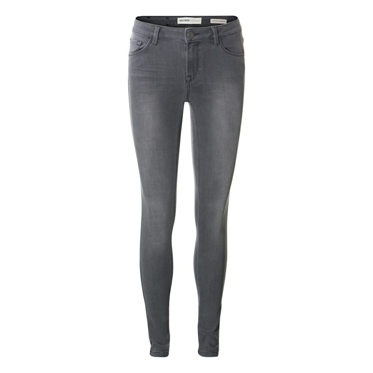 MOS MOSH JEANS - ATHENA SUPER SKINNY GREY DENIM