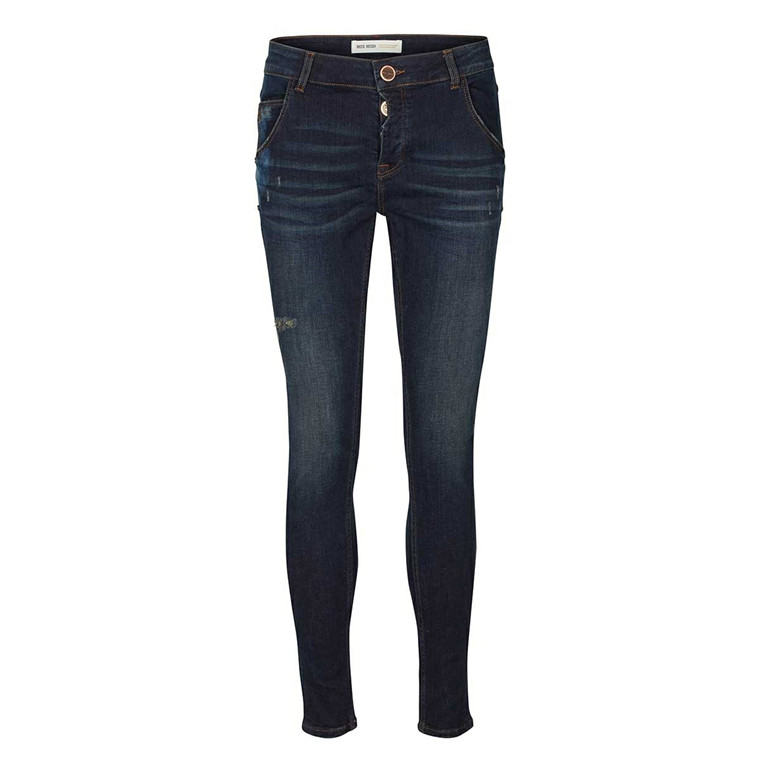 MOS MOSH SEAL JEANS - DARK BLUE DENIM