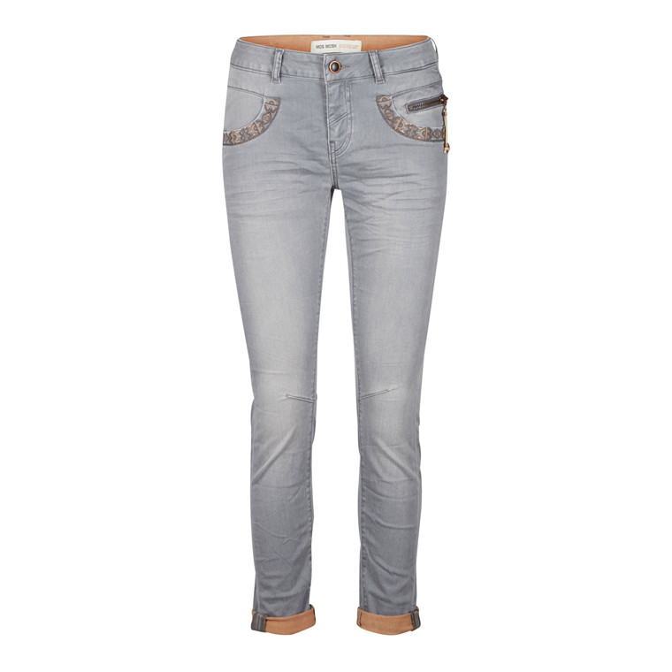 MOS MOSH JEANS - NAOMI COPPER GREY DENIM