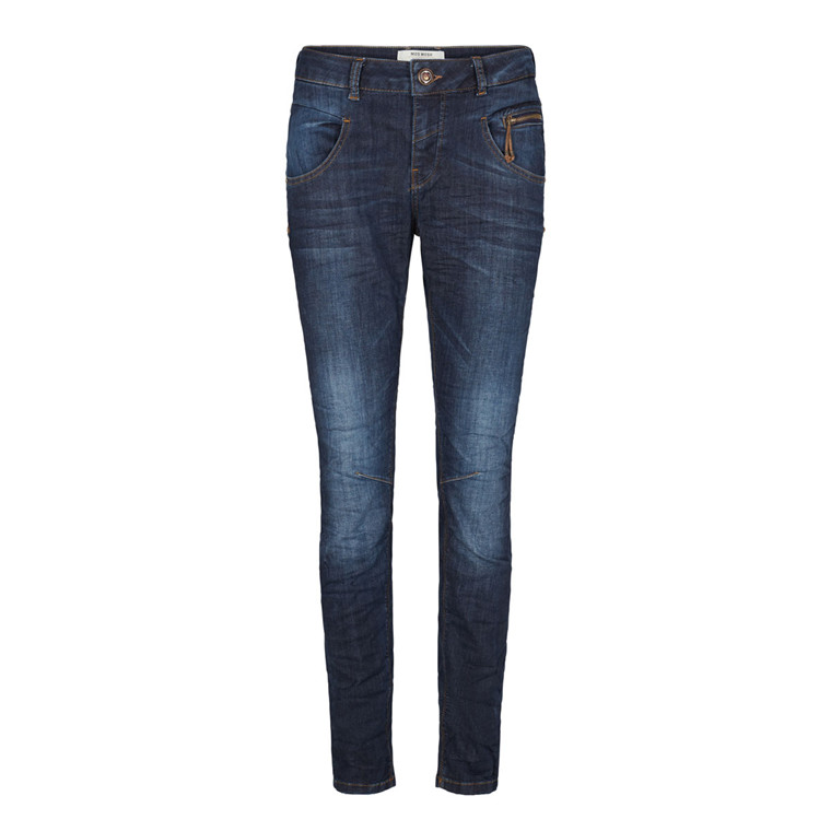 MOS MOSH JEANS - NELLY RYDER DARK BLUE