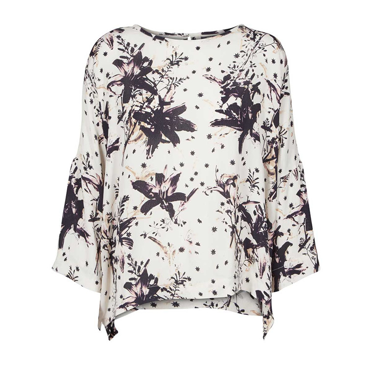 MOS MOSH BLUSE - COSTA LILY OFFWHITE