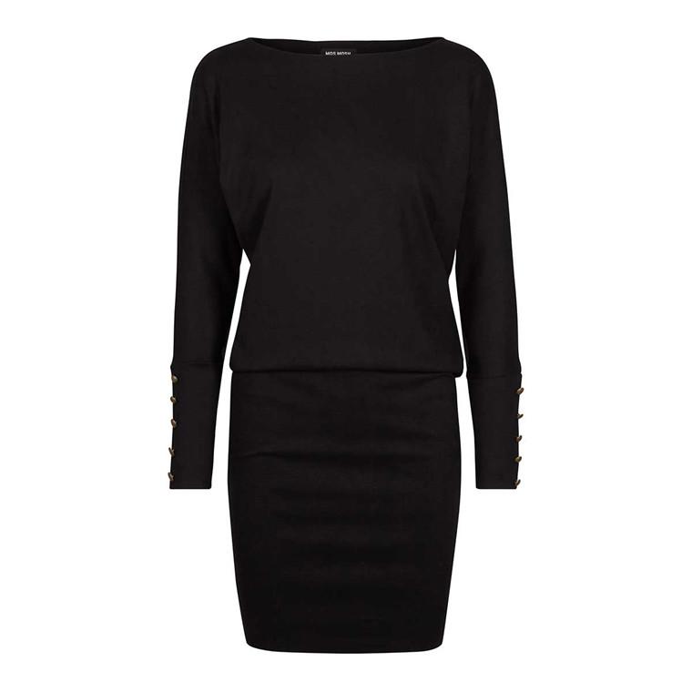 MOS MOSH KJOLE - JACKIE DRESS BLACK