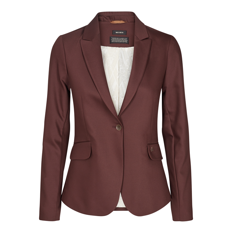 MOS MOSH BLAZER - BLAKE NIGHT CHOCOLATE