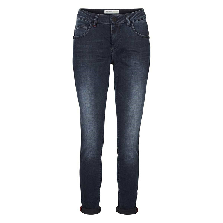 MOS MOSH BRADFORD JEANS - BLUE BLACK DENIM