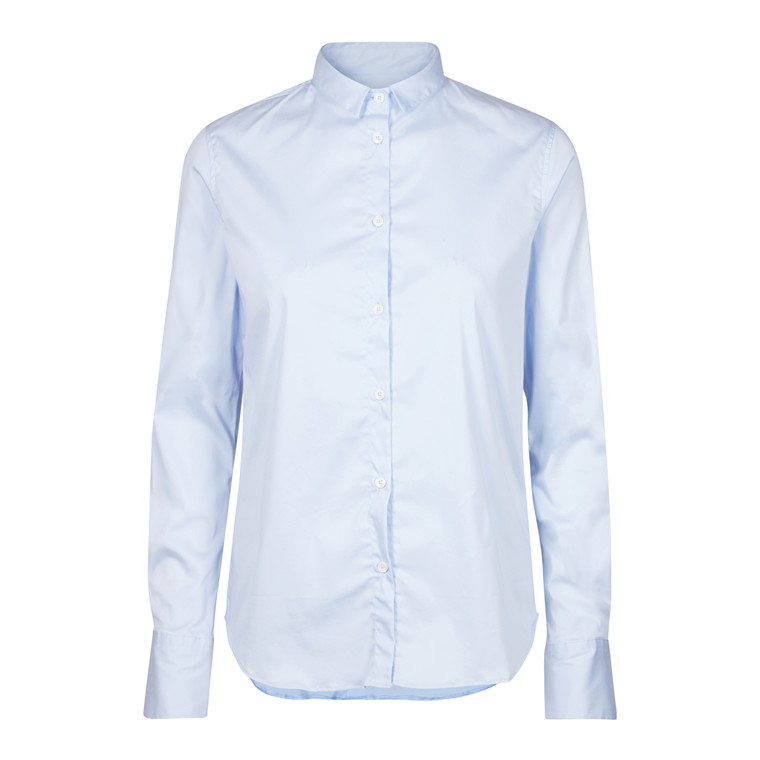MOS MOSH SKJORTE - TILDA LIGHT BLUE