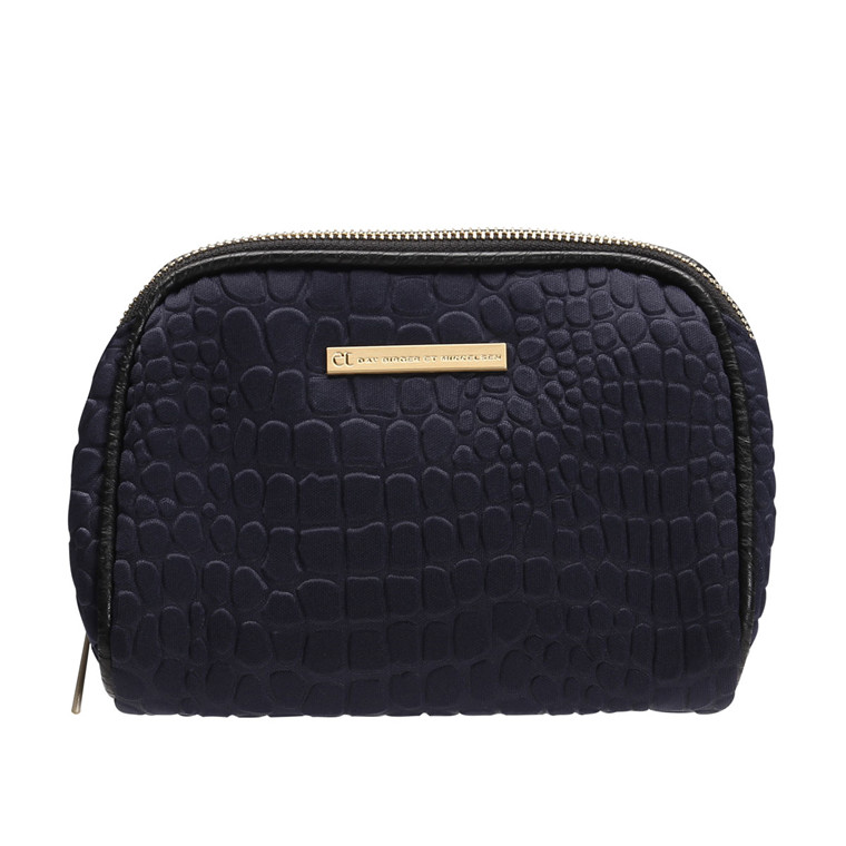 DAY BIRGER ET MIKKELSEN TASKE - ETCH BEAUTY SMALL 04026 MIDNIGHT