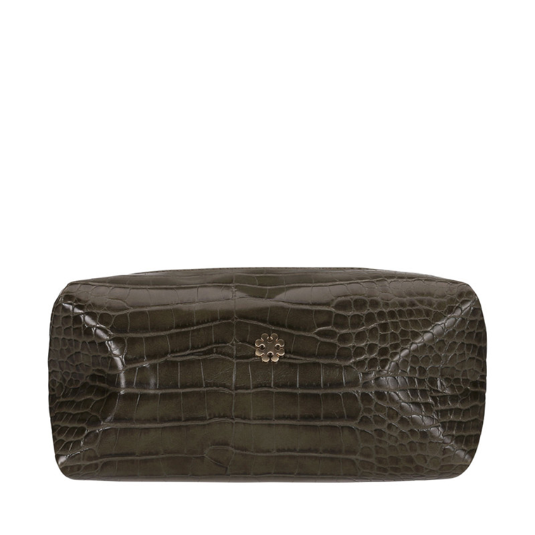 DAY BIRGER ET MIKKELSEN TASKE - CROC BEAUTY DEEP OLIVE