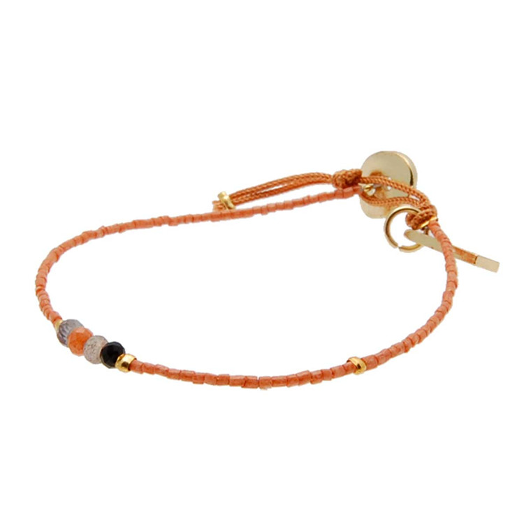 BY MICKLEIT ARMBÅND - 66F CORAL