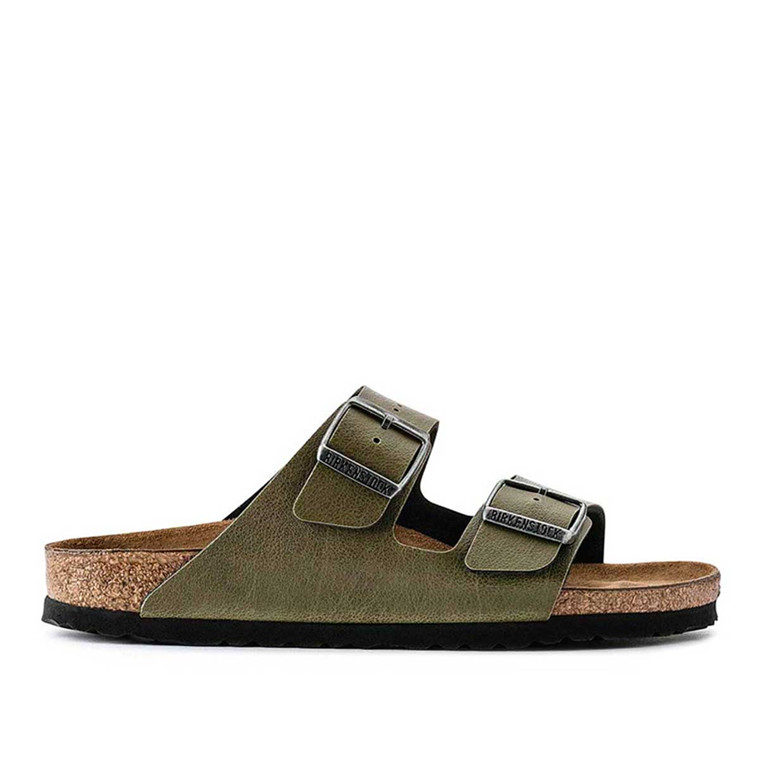 BIRKSENSTOCK SANDAL - 1003151 BS ARIZONA PULL UP OLIVE