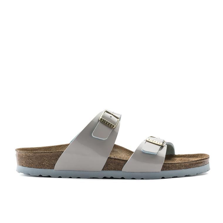 BIRKENSTOCK SANDAL - 1008118 SYDNEY TWO TONE LIGHTGRAY