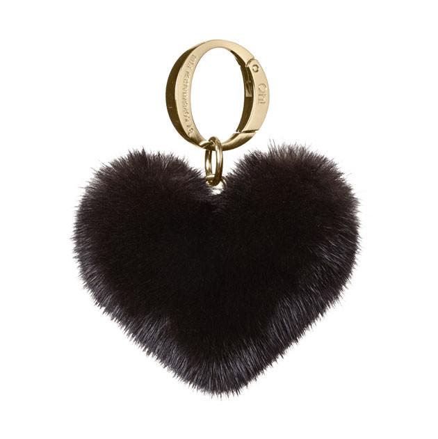 OH FUR - ALLY HEART STARDUST MINK BLACK 197