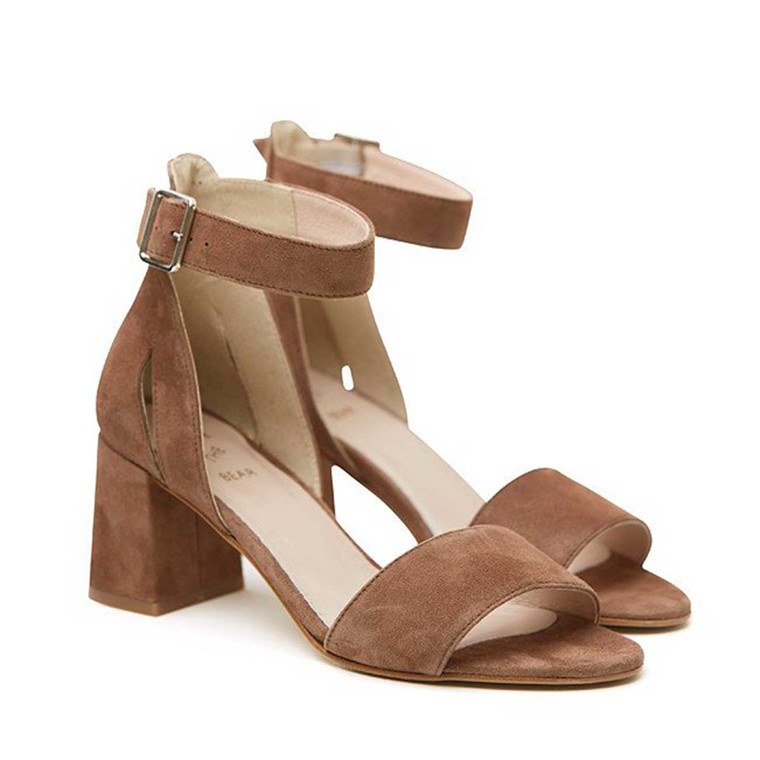 SHOE THE BEAR SANDAL - MAY S TAUPE
