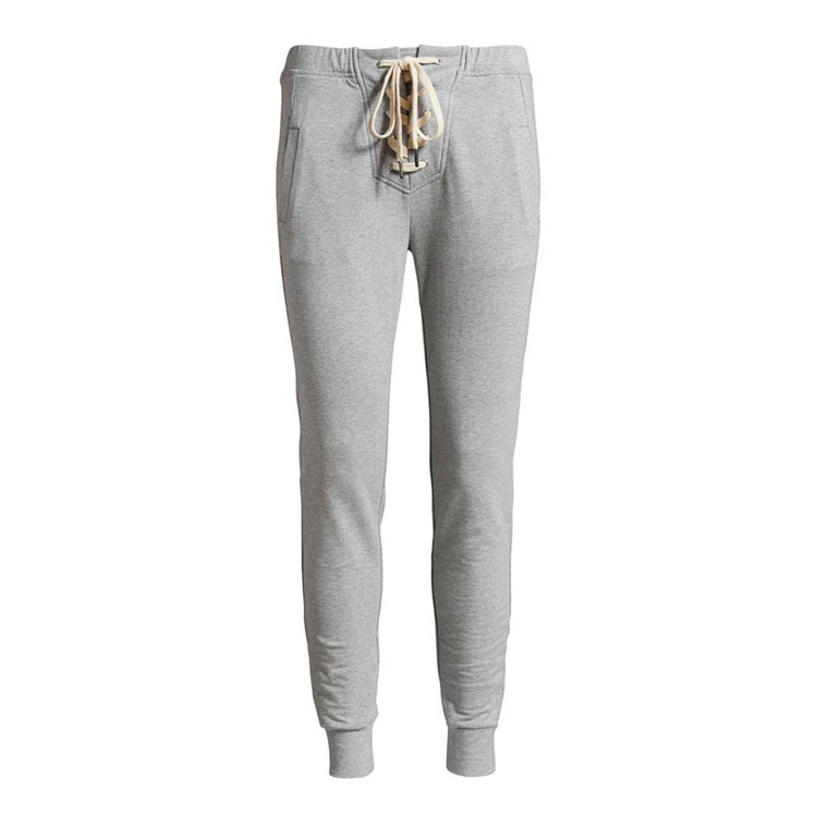 CO'COUTURE BUKSER - TOD TIE PANT LIGHT GREY