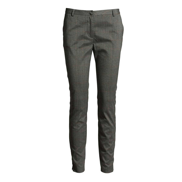 CO'COUTURE BUKSER - JULIE PRINCE MID GREY