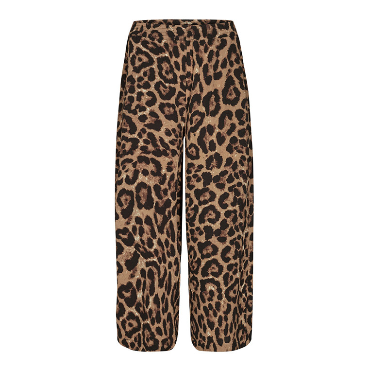 CO'COUTURE BUKSER - JAGUAR CROPPED COGNAC