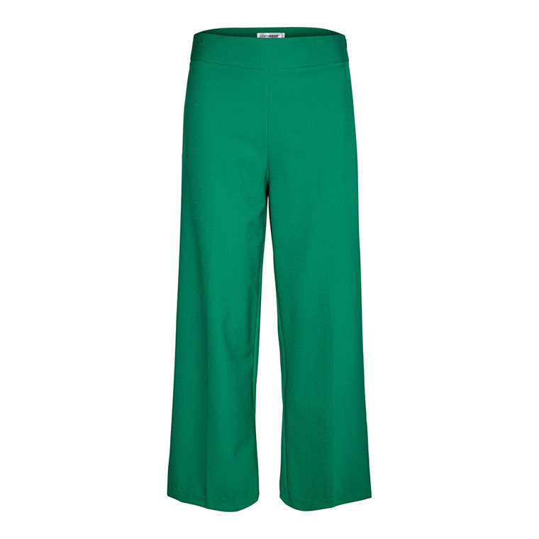 CO'COUTURE BUKSER - SIMONE FLARE GREEN