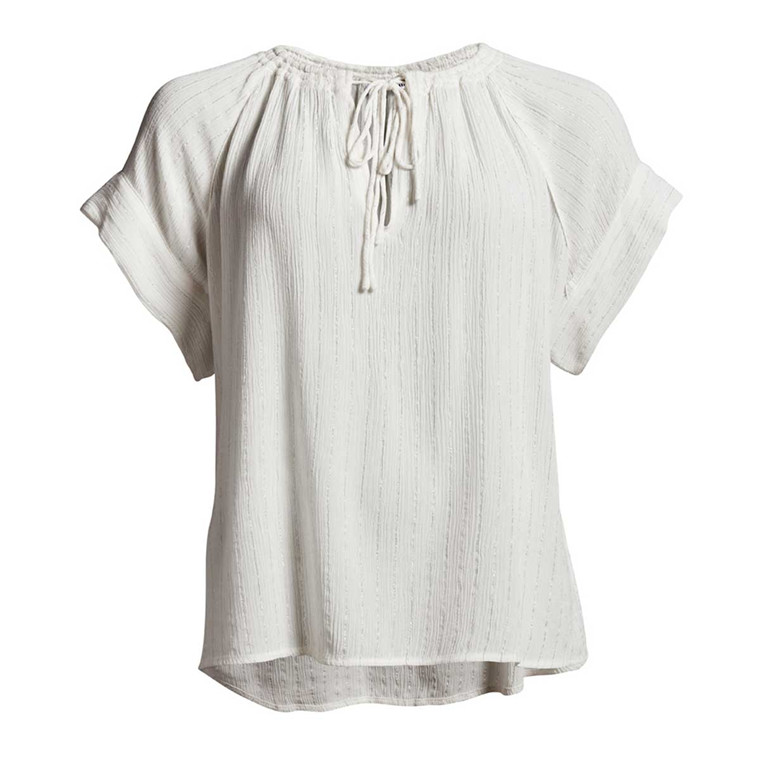 CO´COUTURE BLUSE - TRIAL LUX TOP WHITE
