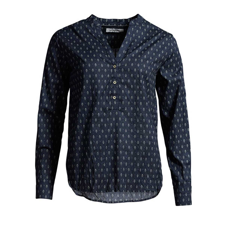 CO'COUTURE BLUSE - COCO PEPPEL NAVY